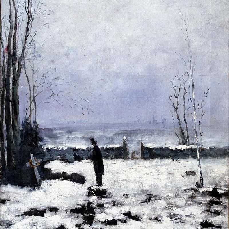 Carl Fredrik Hill, the Cemetery