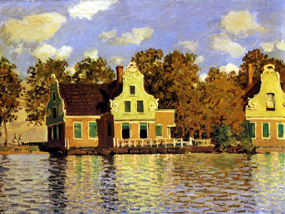 Huis aan de Zaan, Claude Monet