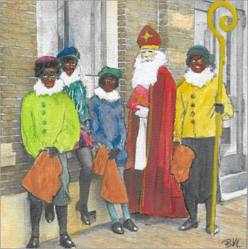 Sinterklaas is dronken