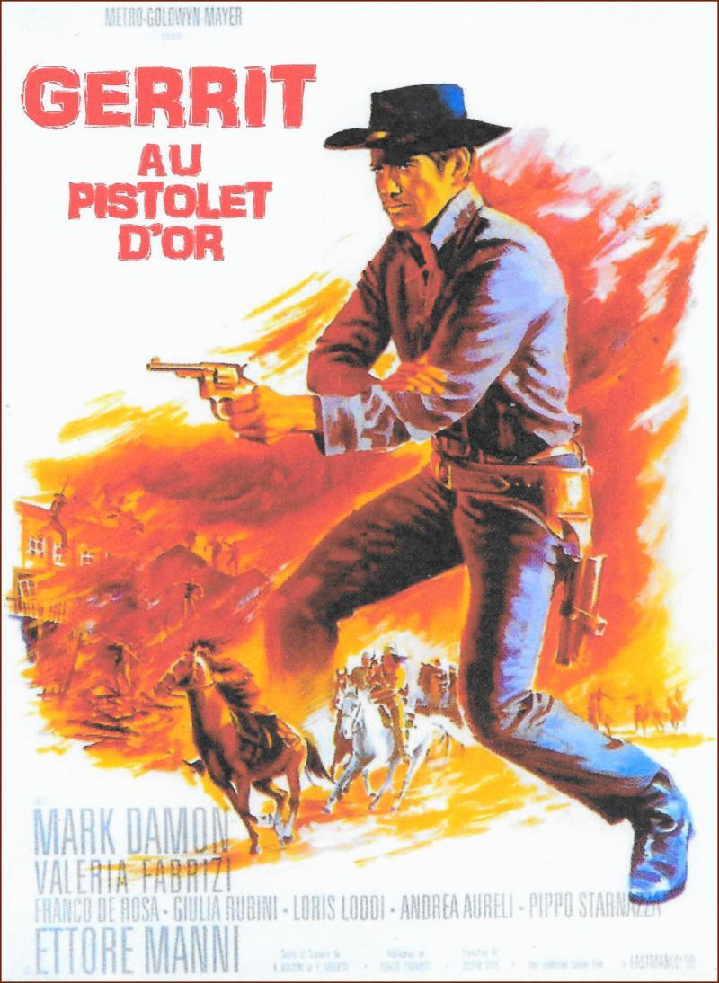Gerrit en het gouden pistool